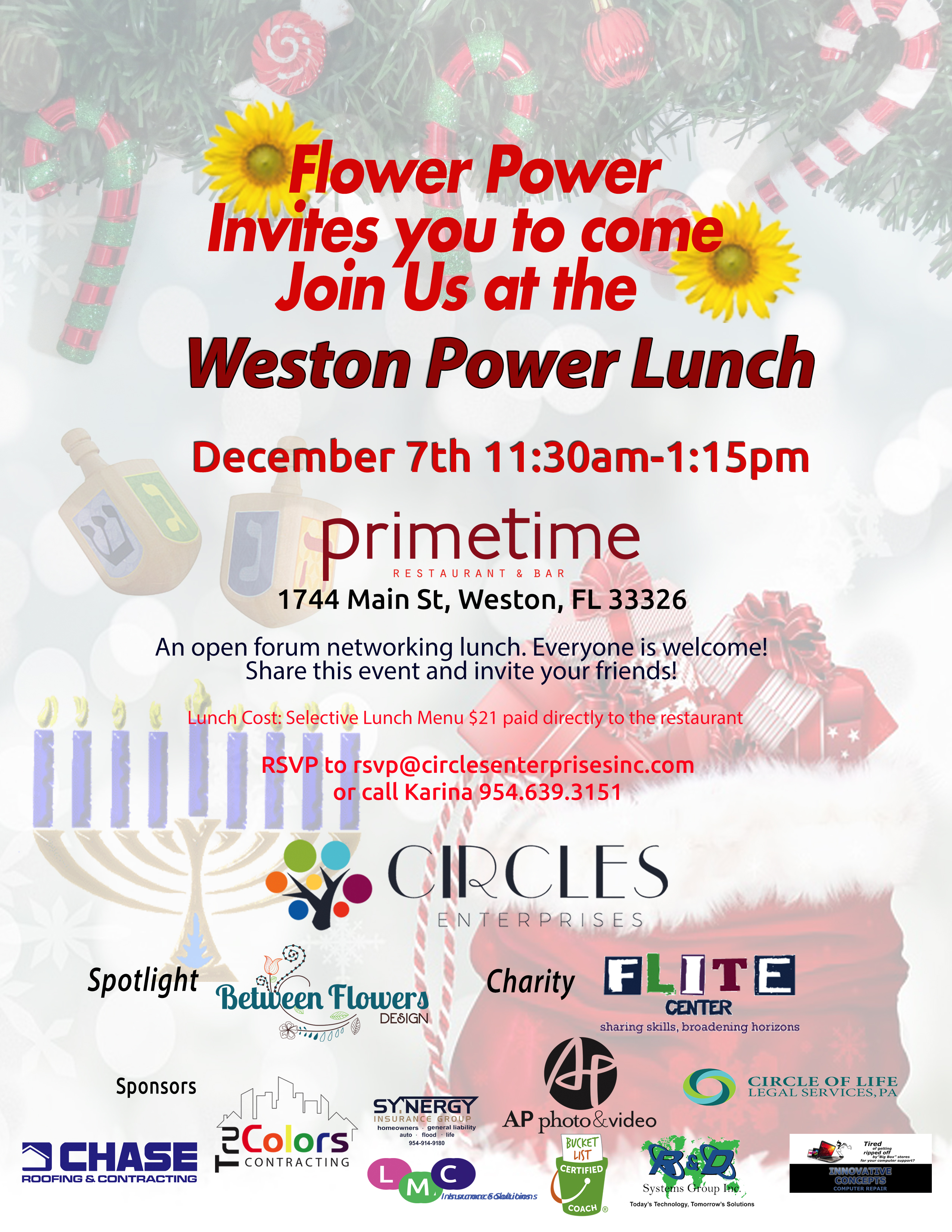 December Power Lunch 2018