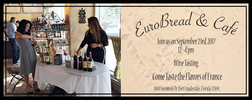 Euro Bread Wine Tasting
