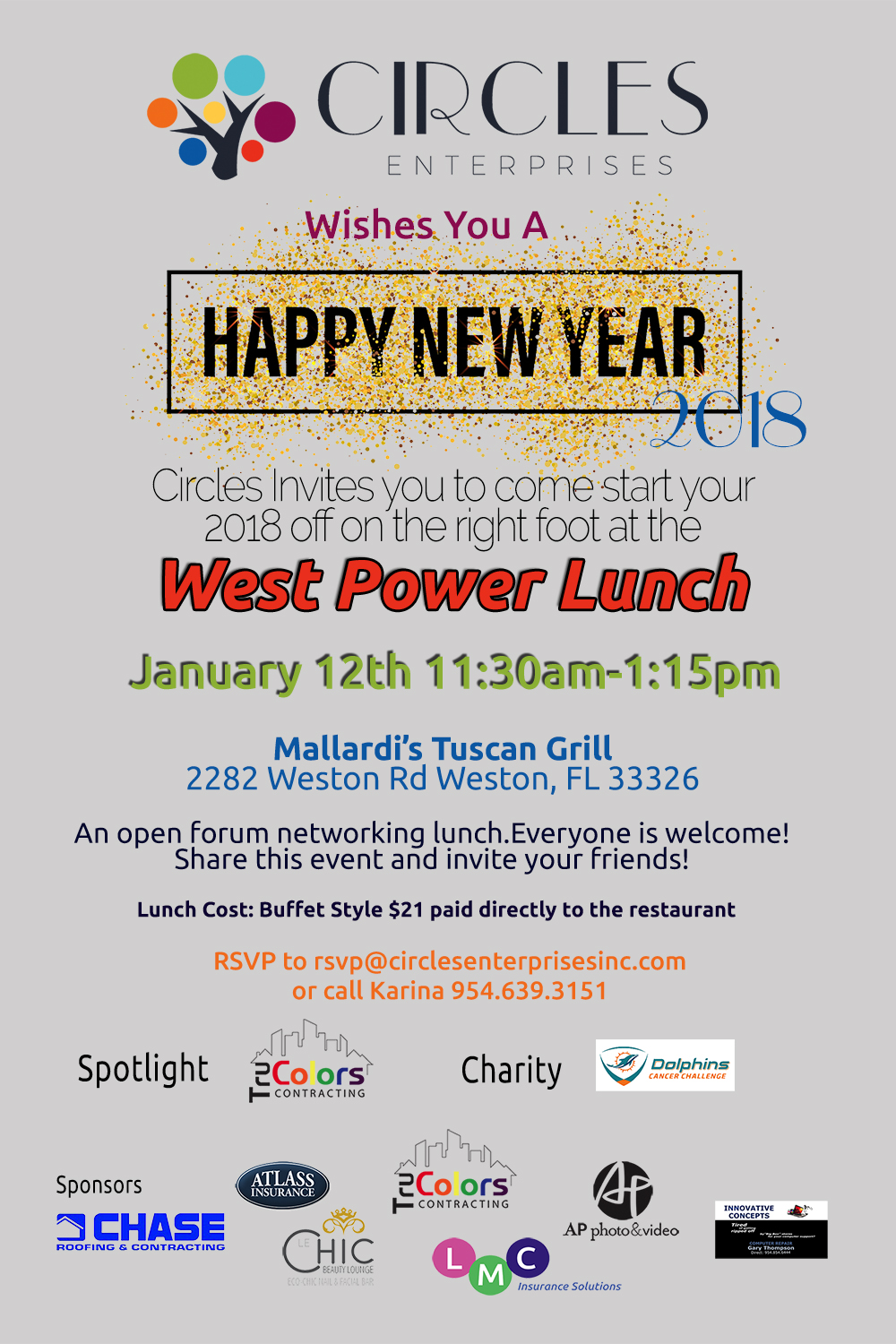 January Power Lunch 2018 FB