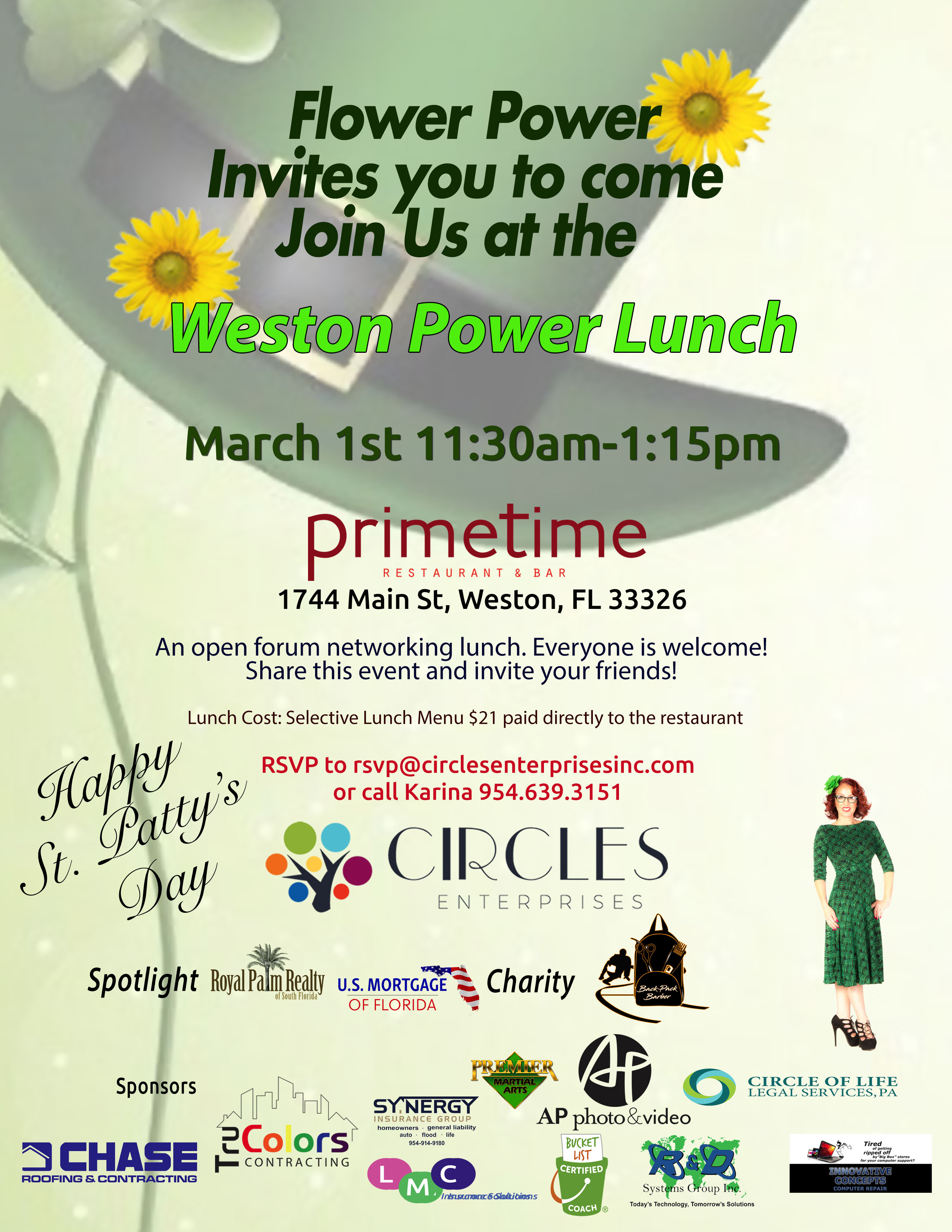 March Power Lunch 2019
