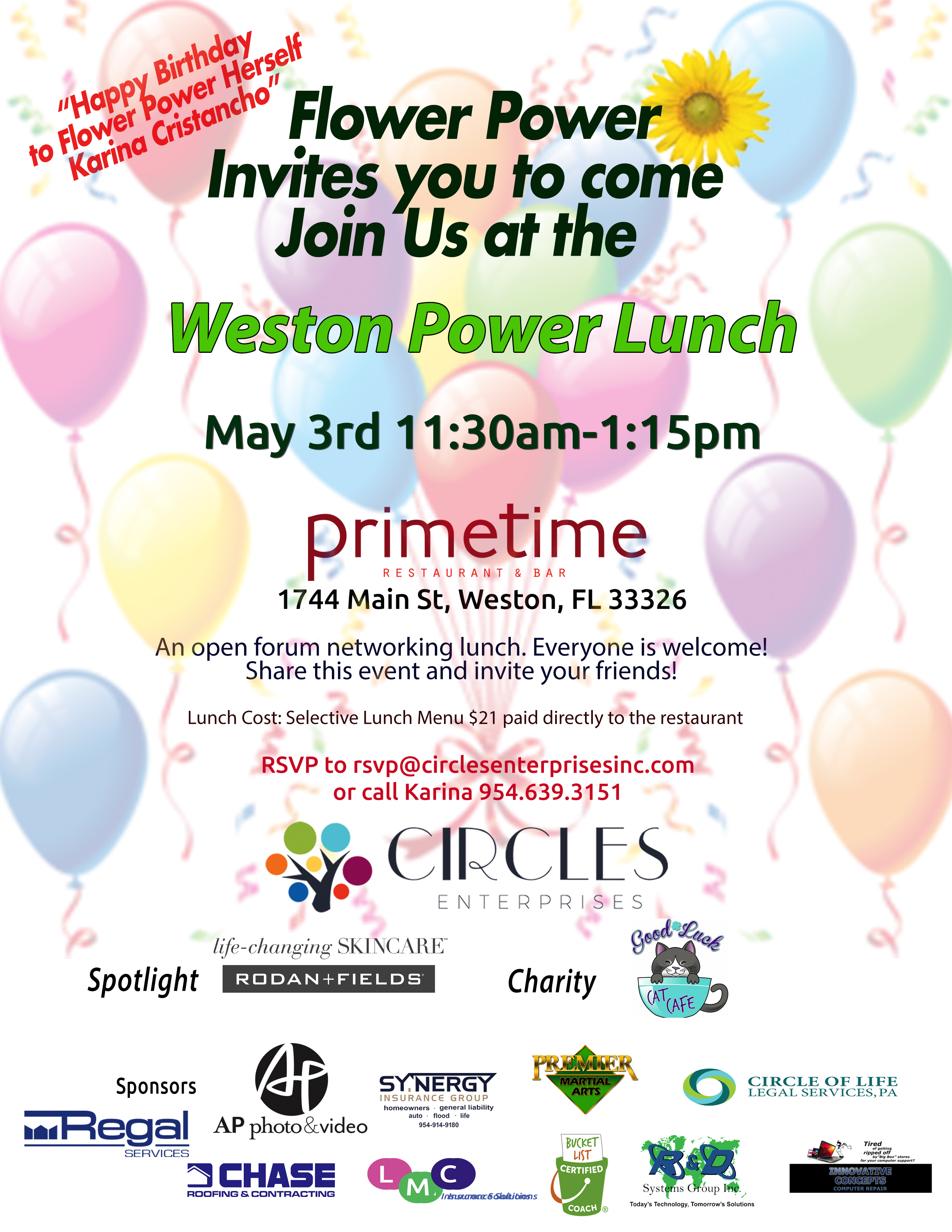 May Power Lunch 2019