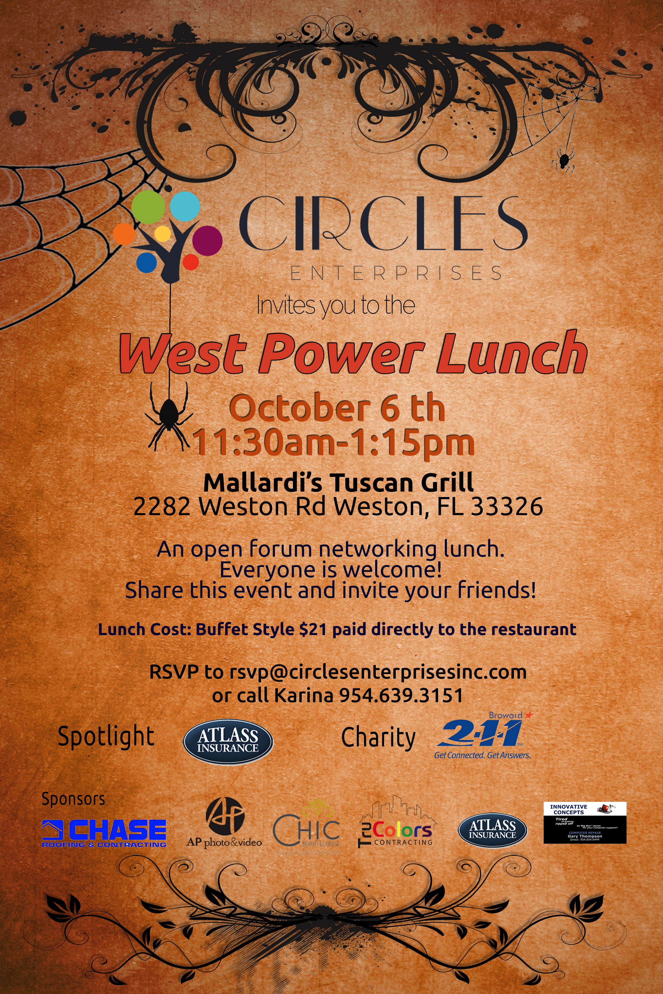 October Power Lunch 2017