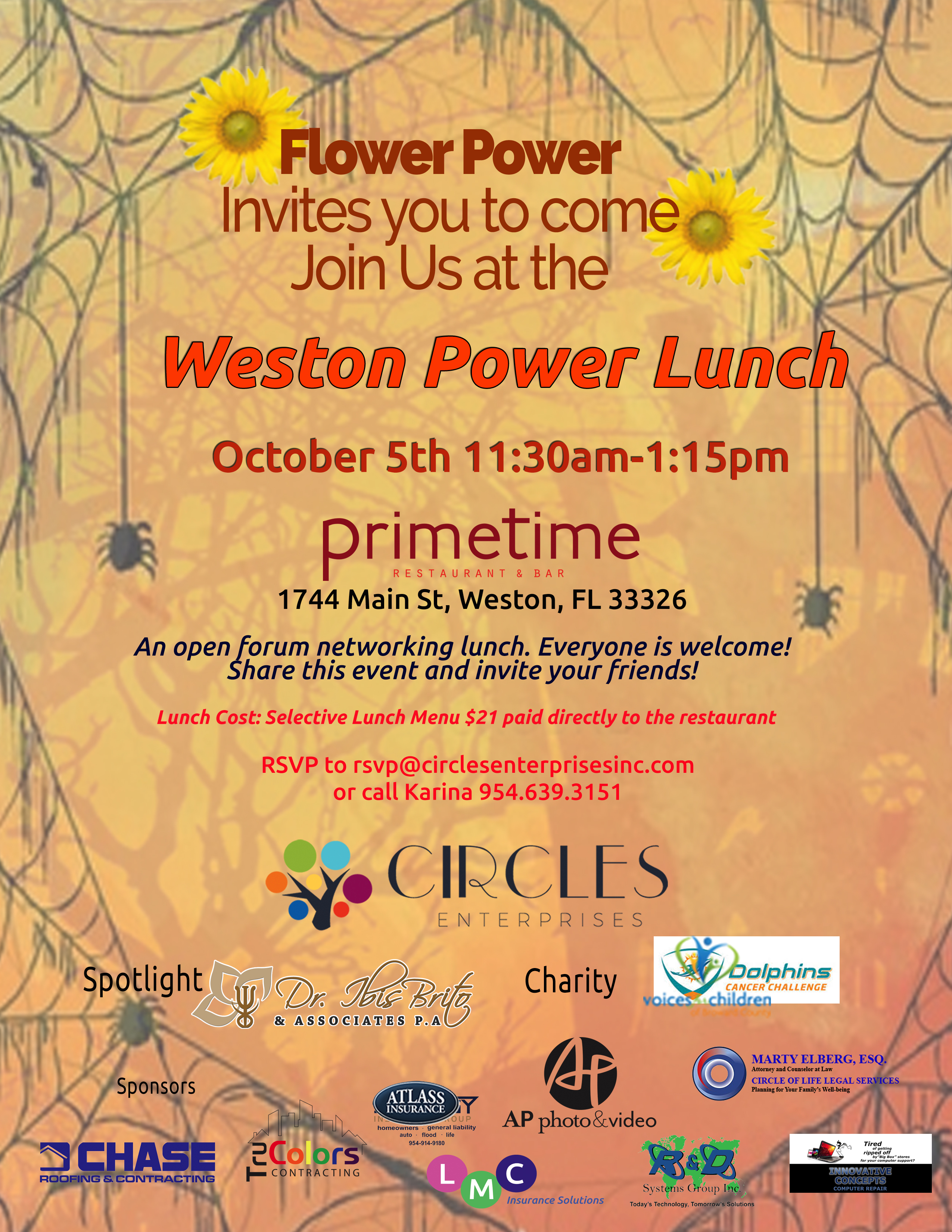 October Power Lunch 2018