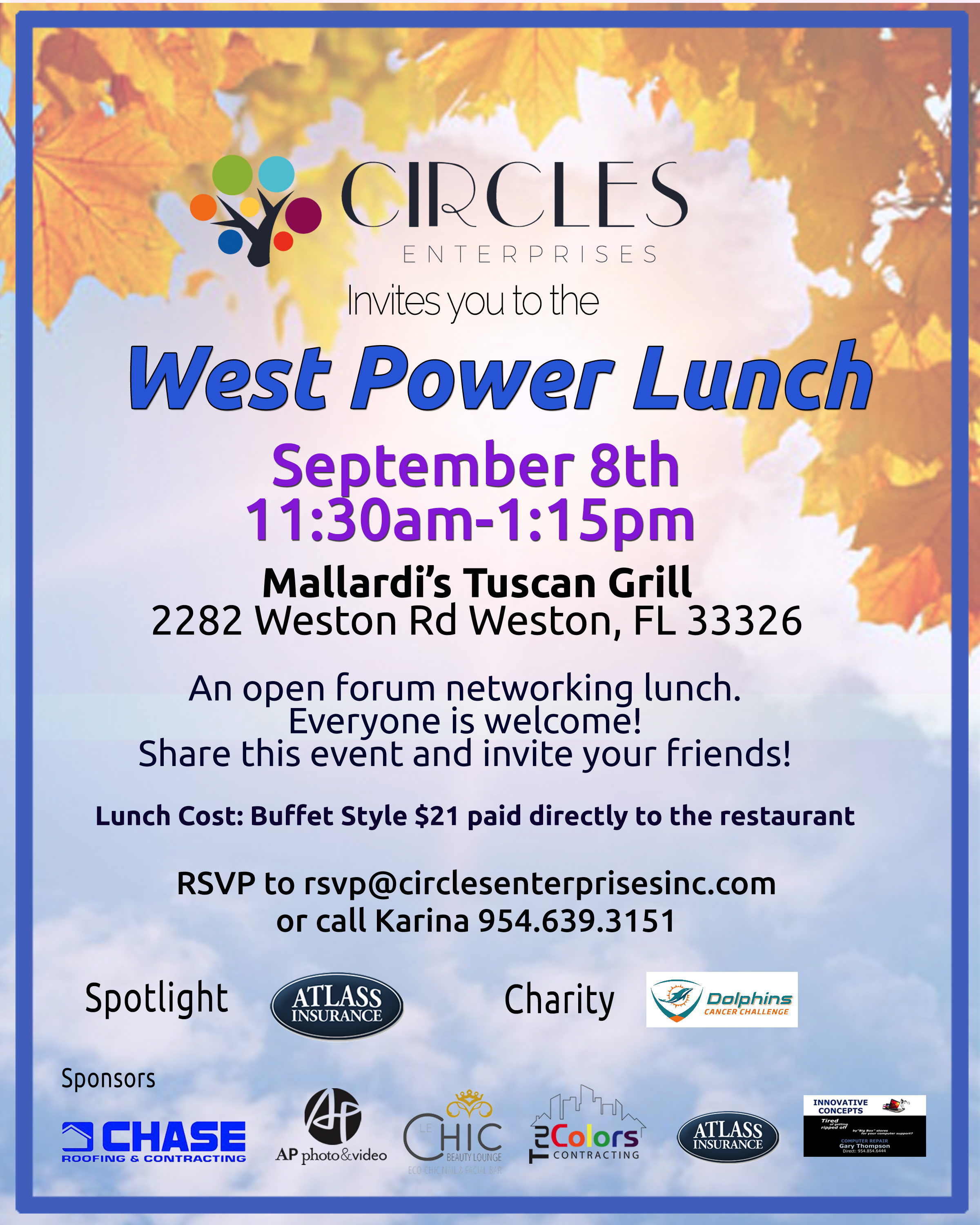 September Power Lunch 2017 FB