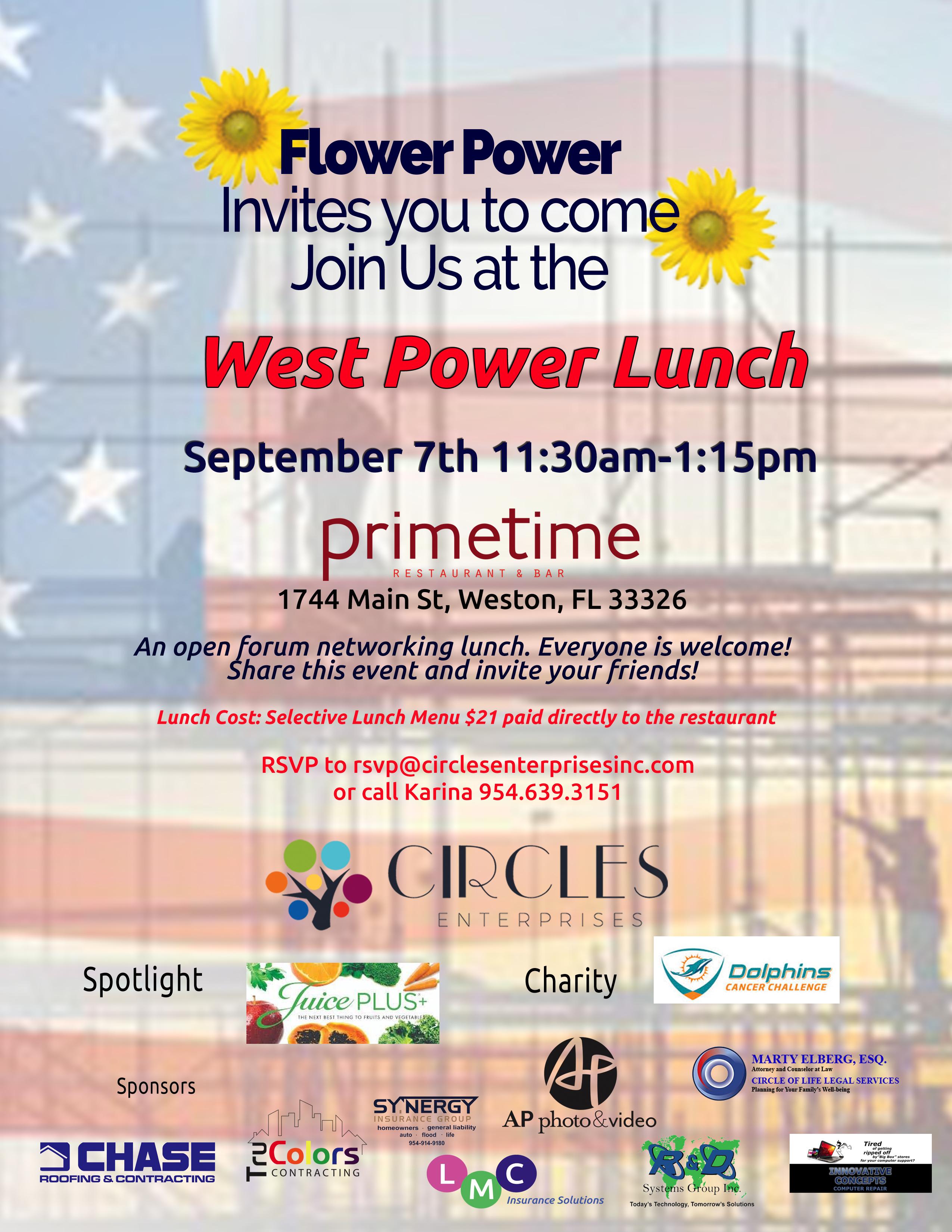 September Power Lunch 2018